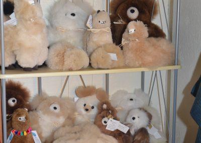 Fur animals at Poppy's